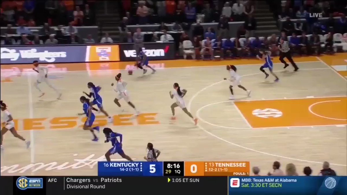 THIS is why we are hyped at having Taylor working with #KoyerSport  Both ends of the floor @KentuckyWBB 👀📽️👀  Buckets ✅  Passing the rock ✅  Snapping up steals ✅  #PoWEr #ncaaW #ShesGotGame ✅