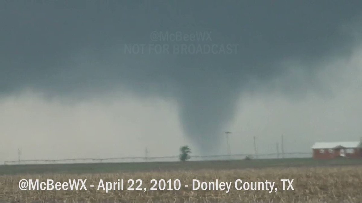 Image for the Tweet beginning: #Tornado nine years ago today