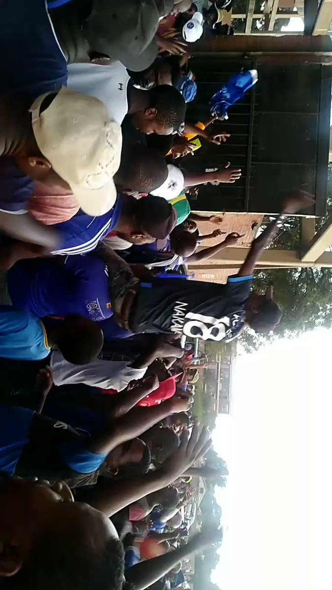 Dynamos fans demonstrating against Mablanyo for losing to Herentals team