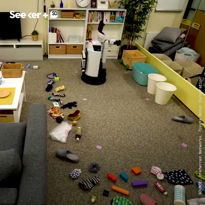 RT @Fisher85M: This robot can clean your room. {Video}  #innovation #startups #Robotics #tech @Seeker https://t.co/IKkw1Odgmw