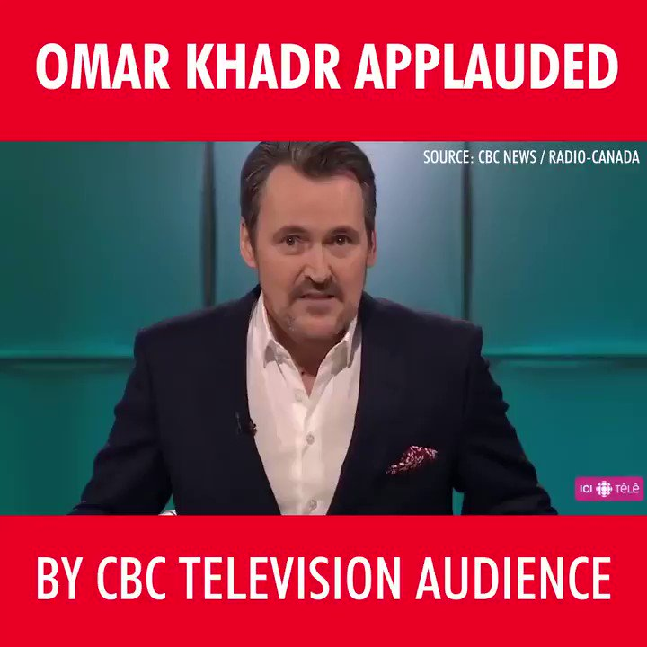 Something is seriously wrong with this picture. Shame on the CBC for giving a platform to this convicted terrorist.