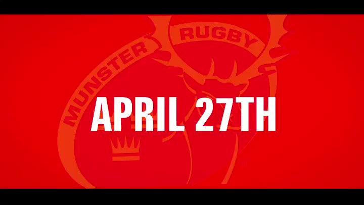 Munster Rugby @Munsterrugby