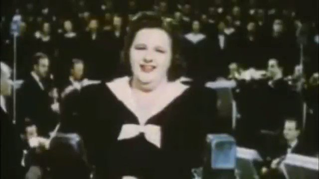 They are banning Kate Smith's God Bless America from sports now. Be a shame if this went viral before Twitter bans it too