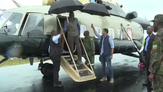 VIDEO: President Kagame and H.H Sheikh Tamim bin Hamad Al Thani visit Akagera Park, home to the Big Five animals, as part of the Emir's three day state visit to Rwanda.