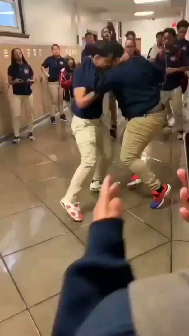 BRUH I HATE IT HERE 😂😭😭 2 kids started fighting and one of the special needs kids escaped from class on accident and thought it was a dance party  https://t.co/rAsUSl0cIl