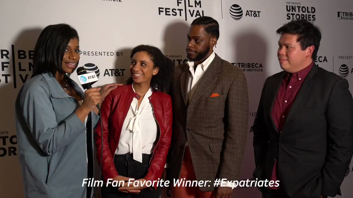 Your votes are in — #Expatriates is the 2019 #ATTUntoldStories Film Fan Favorite! Big congrats to @kmakesmovies who will receive $50K in funding towards the production of her Untold Story. We can't wait to see it come to life. 🎬