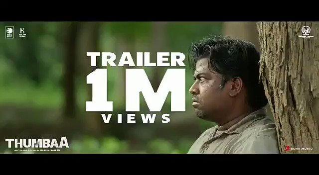 #Thumbaa Trailer Crossed 1⃣+ Million Views India's Biggest Live Action Experince   #ThumbaaTrailerHits1MViews    @Darshan_Offl @ActDheena @kjr_studios