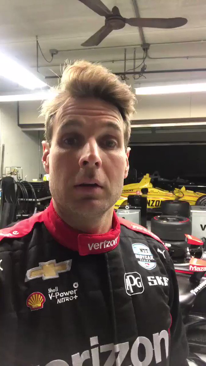 Another 🔥 livery revealed ahead of the Open Test at @IMS tomorrow 👀 @12WillPower's @verizon Chevy is 👌💯 #INDYCAR // @Team_Penske