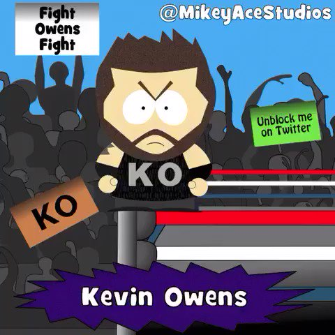 Mikey Ace's photo on Kevin Owens