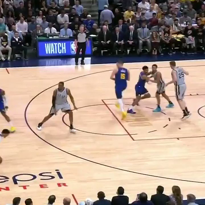 Jamal Murray too smooth with this move 🤭