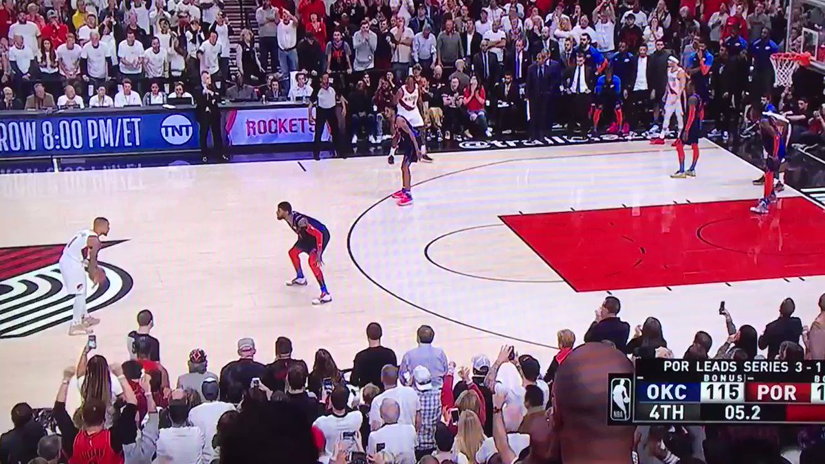 Damian Lillard hits all-time buzzer-beater to win playoff series, waves goodbye to Thunder