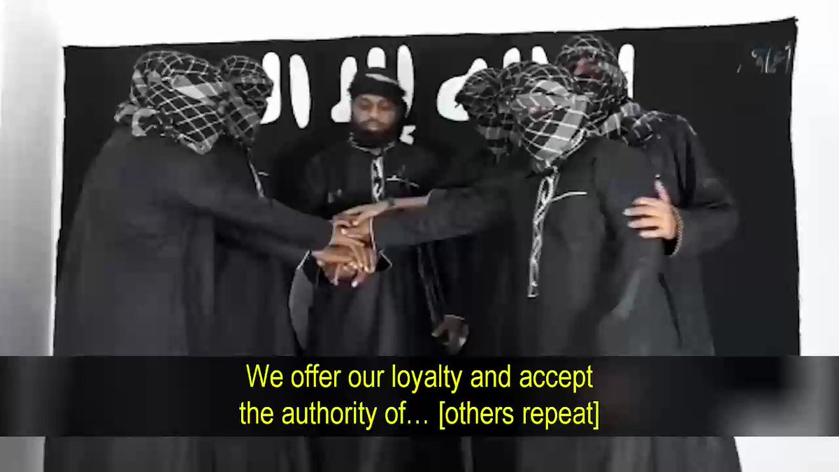 """Here is why Christians were targeted in Sri Lanka!   Is Media hiding the motive?  We translated the Sri Lanka jihadists pledging their allegiance to the Islamic State leader, Abu Bakr al-Baghdadi.  Video shows 8 jihadis, led by Zahran Hashim, the """"mastermind"""" of these attacks"""