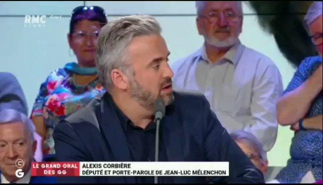 """""""Vous tolérez le financement du #PSG par le #Qatar. Pas moi. Je dis que cette monarchie est un système abominable où les femmes sont rabaissées, où les gens sont fouettés. Je ne suis pas d'accord pour qu'une dictature finance un club de foot français."""" #GGRMC"""