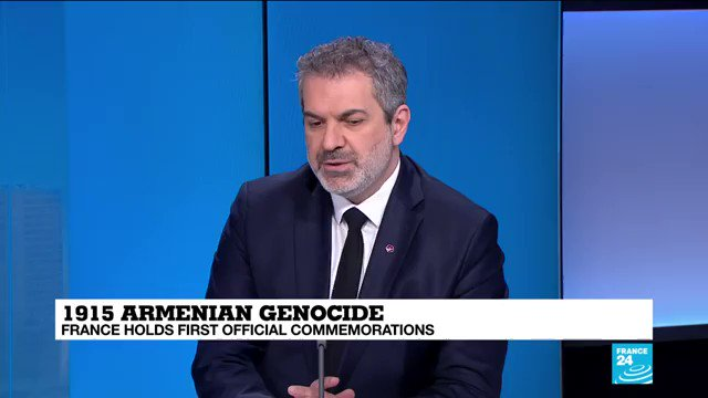 @EmmanuelMacron The most important is that France is showing how all countries in the world can show some dignity regarding the victims of the #ArmenianGenocide [...] Im sure that many countries will follow, says @VKaprielian, President of the Armenian chamber of commerce in #France