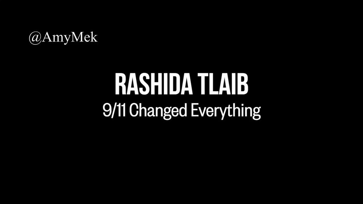 """Rashida Tlaib has a single loyalty & it doesn't appear to be America!   Rashida makes herself the victim of the 911 Jihad attacks & vilifies the American people as the ones to be feared.  Meanwhile, those who Rashida seems to be loyal to were """"back home"""" in Palestine celebrating."""