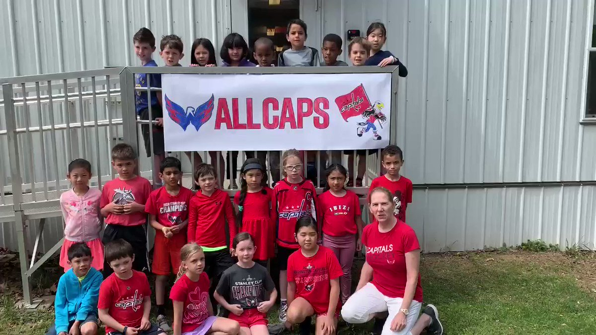 Arlington Traditional School is cheering on the Washington Capitals tonight for game 7!  <a target='_blank' href='http://twitter.com/MrsFlyntATS'>@MrsFlyntATS</a> <a target='_blank' href='http://twitter.com/Capitals'>@Capitals</a> <a target='_blank' href='https://t.co/61q6xzdZB8'>https://t.co/61q6xzdZB8</a>