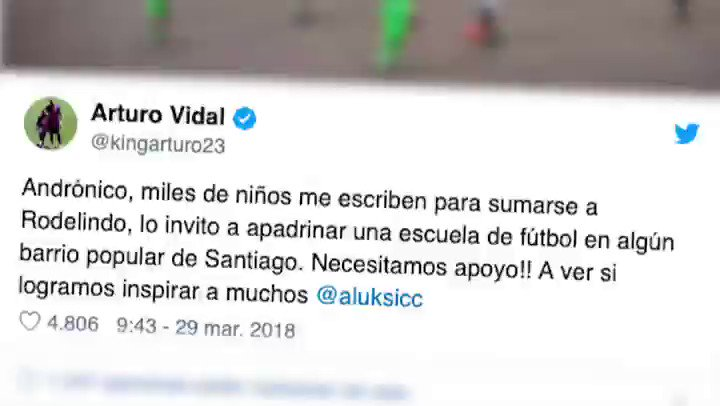 Arturo Vidal's photo on Niñas