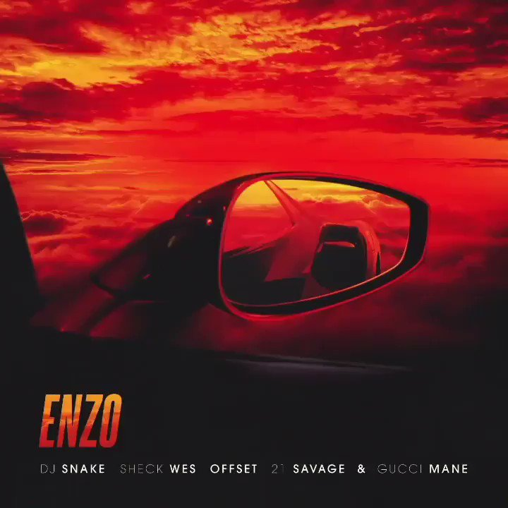 Just when you thought @djsnake couldn't top Taki Taki, he calls in another A-list group of @OffsetYRN, @gucci1017, @21savage & @sheckwes for your next summer anthem, Enzo dncgastrnt.co/djnz