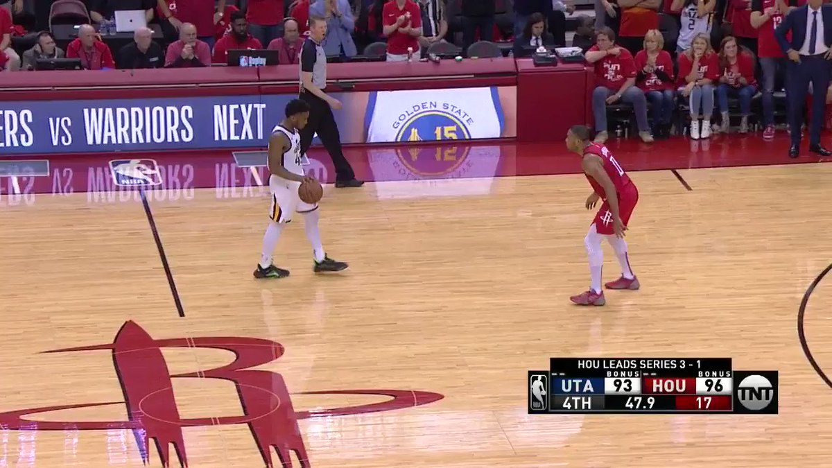 CLUTCH STEAL FROM JAMES HARDEN!