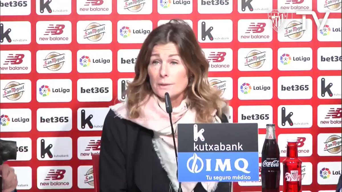 """💬 """"I love the Athletic Club's philosophy. I think it's important the great job they are doing, not only for the sports, but for the whole area."""" #AthleticClub #futfem #OneClubWomanAward @UmeaIKFF"""
