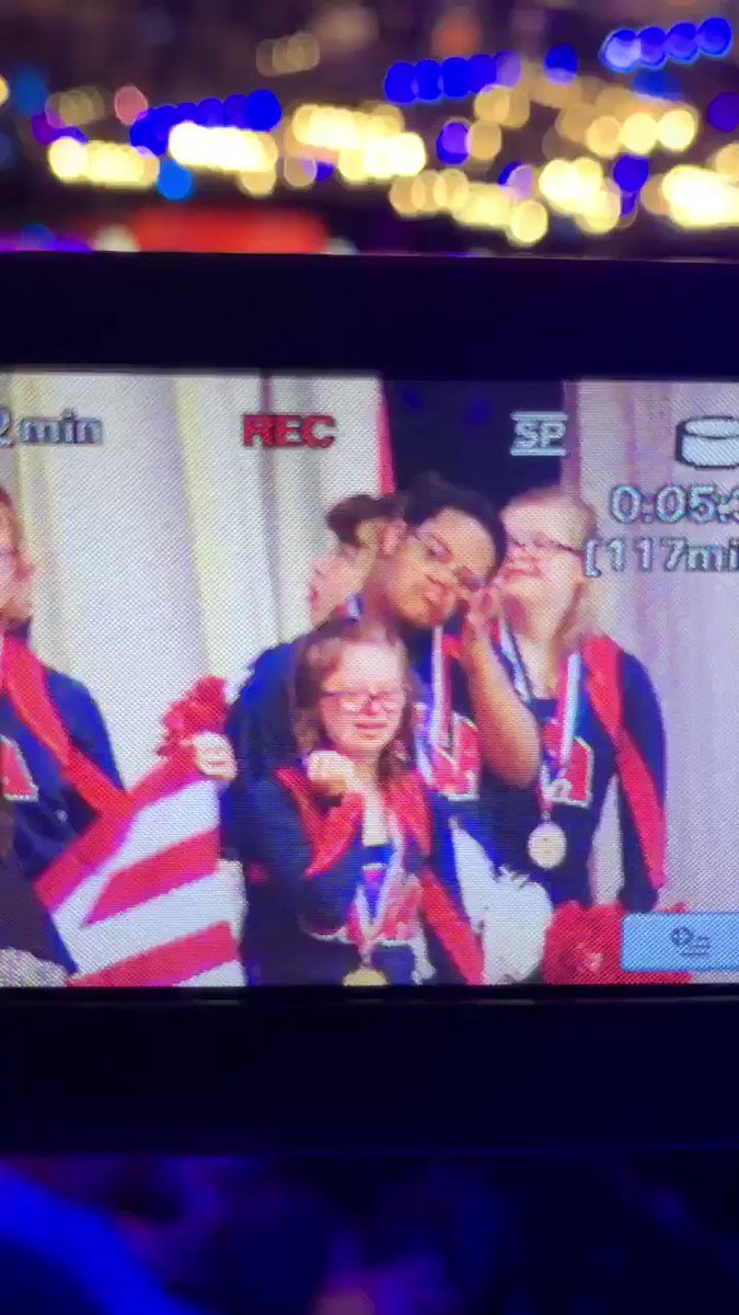 Sara's Special Needs Cheer team competed in Disney today!!! Here's a little clip of Sara's reaction when they WON! Go Sara for being a WORLD CHAMPION 🥇🏆🏅that's my girl!