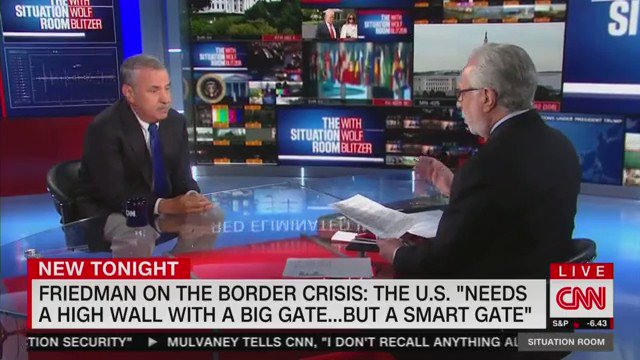 Tom Friedman of the New York Times went and saw the crisis on our southern border and now he gets it: WE NEED THE WALL!