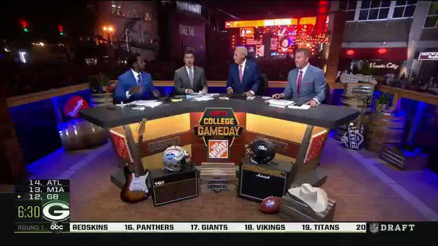 Video: Lee Corso Has Had Enough Of The 2019 NFL Draft