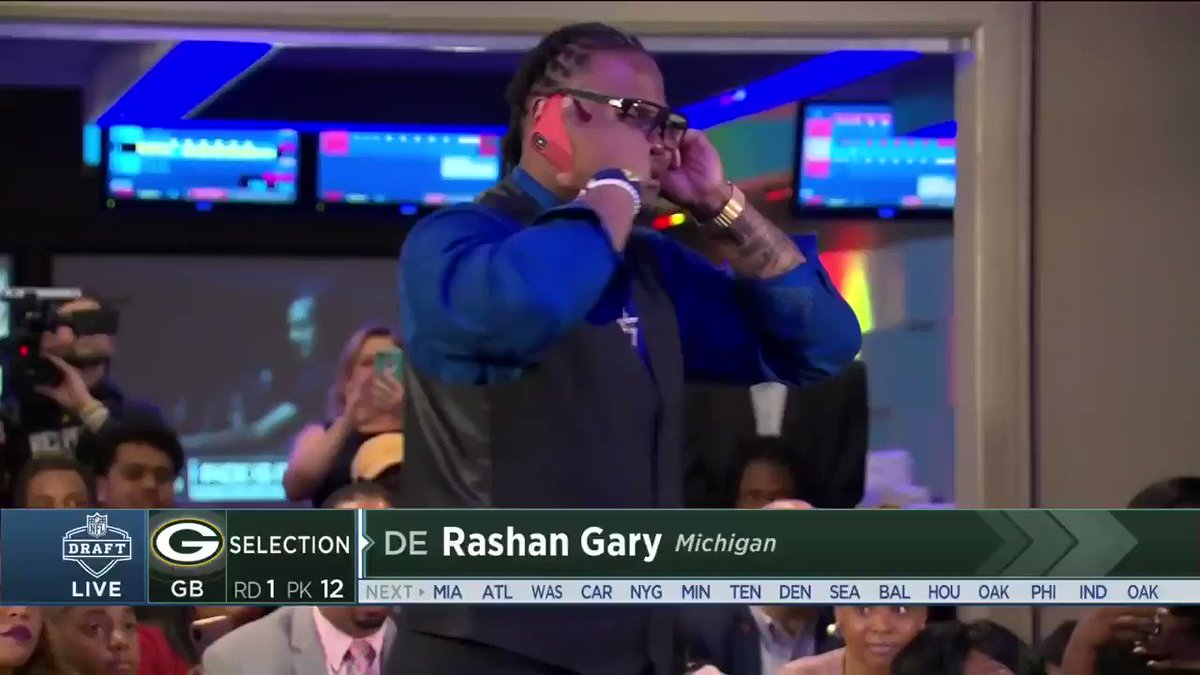 SportsCenter's photo on Rashan Gary