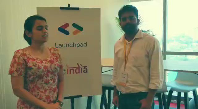 Image for the Tweet beginning: The 2nd bootcamp of #LaunchpadAcceleratorIndia