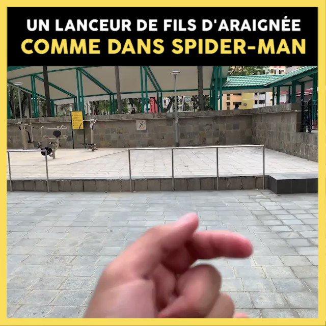 Tout plaquer et devenir Spider-Man 🕷  Plus d'infos : http://bit.ly/2IXjB20
