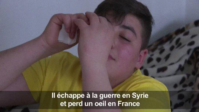 """Je ne pensais pas que je souffrirai en France, je croyais que c'était un pays en paix"""" DqAahdsuJRCXfNMM?format=jpg&name=small"""