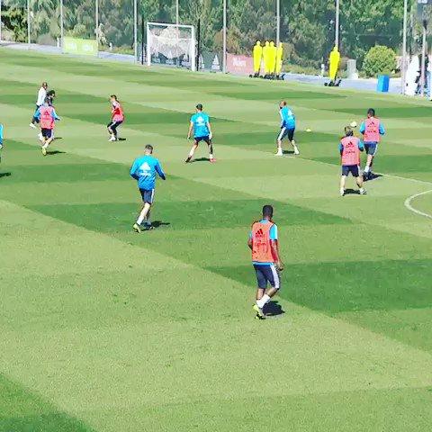 💪💪💪⚽️⚽️⚽️ vamos!!! #HalaMadrid #daniceballos #daniceballosoficial #ceballos #entrenamiento #trainingDay
