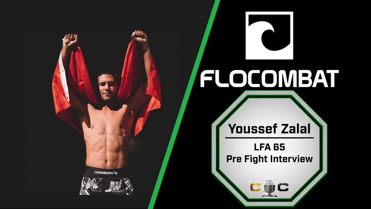 Thank you to the @moroccan_devil Youssef Zalal for the time ahead of his bout at #LFA65   We talk about the upcoming fight, bouncing back from a loss, and his long awaited visit home to Morocco!   https://youtu.be/UHVnVu7suS0  👀  -@FloCombat