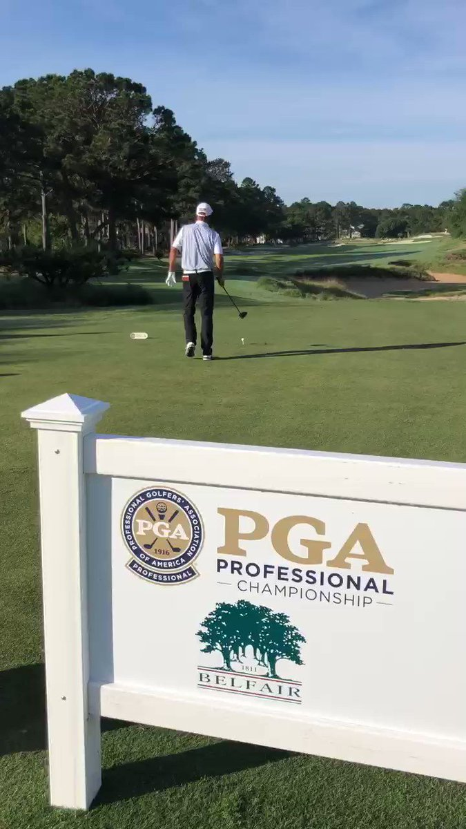 Image for the Tweet beginning: PGA Professional Doug Rohrbaugh begins
