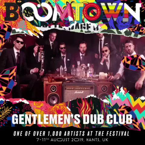 Gentleman's Dub Club - LOST IN SPACE OUT NOW! on Twitter