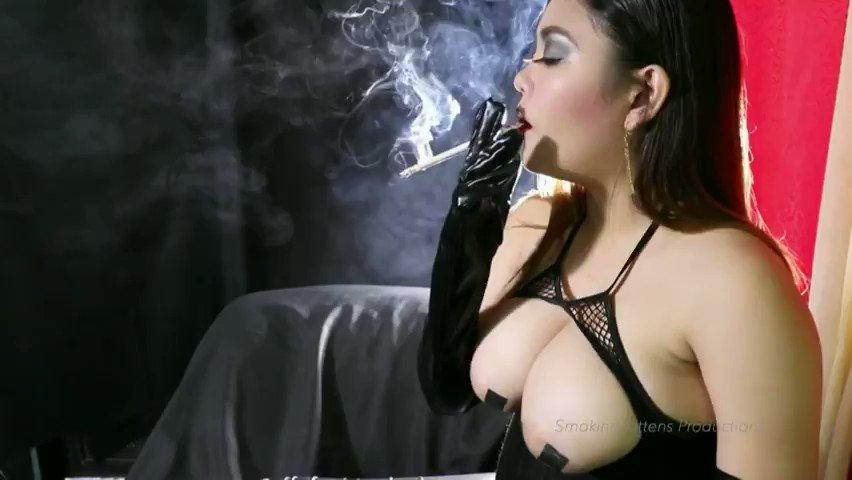 Sexy smoking clips