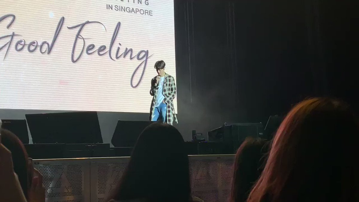Heartfelt words from Kuanlin. He knows there're some fans who may be surprised with the new style he's chosen to pursue but that's what he wants to do & hopes fans would enjoy it! He has nothing but a grateful heart for the support & love of his fans!❤️ #LAIKUANLINGoodFeelinginSG