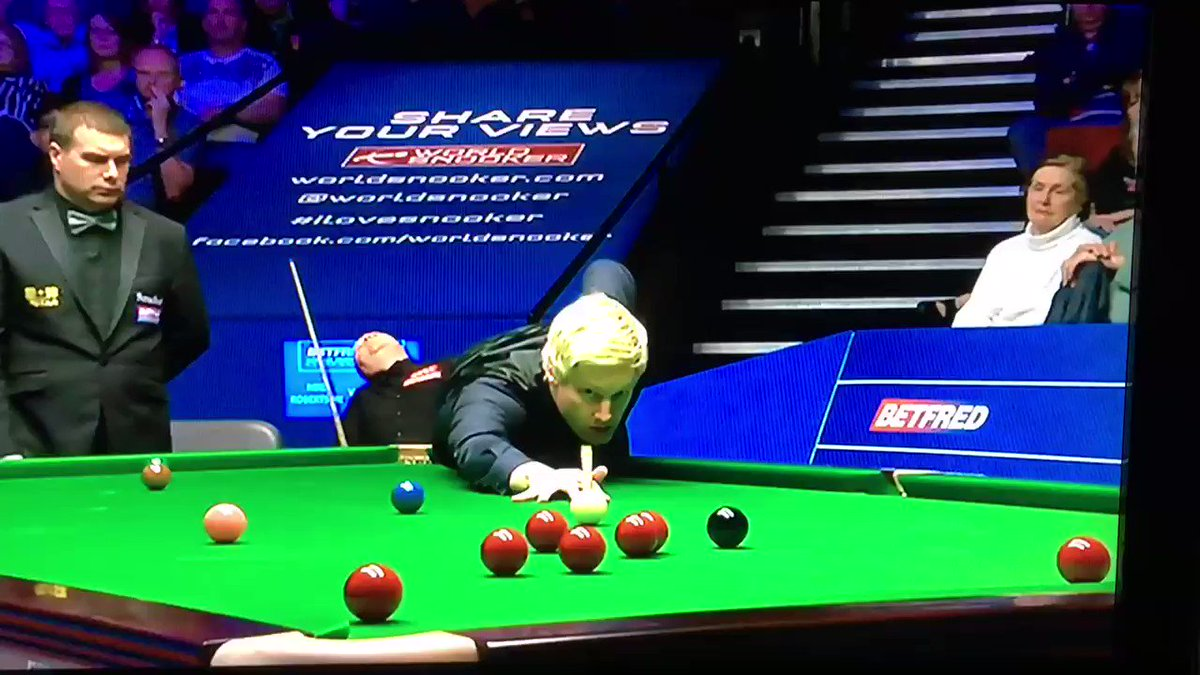 Are we just going to ignore that somebody's murdered John Higgins #bbcsnooker