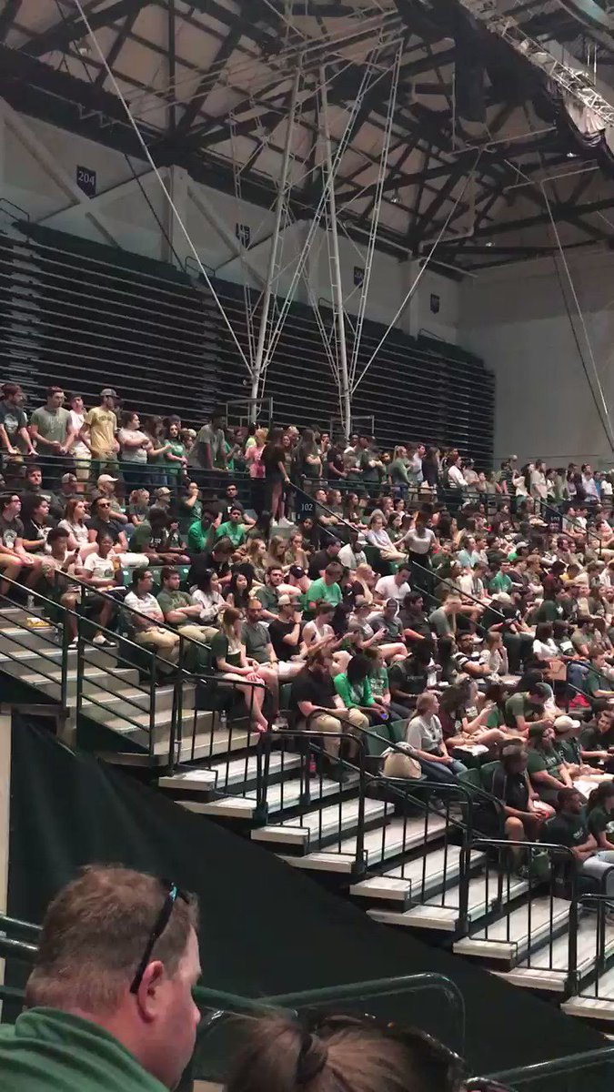 Incredibly PROUD to be a part of the UNC Charlotte community. Go Niners!
