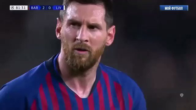 Please Silence - you see pleasure in front of you🙏🙏🙏🙏💜💜💜💜  #Messi #BarcellonaLiverpool #BARLIV https://t.co/Uzj6nrz9ae
