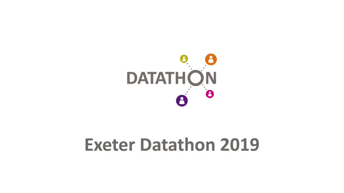 Image for the Tweet beginning: What's a #DPUKdatathon? Watch our