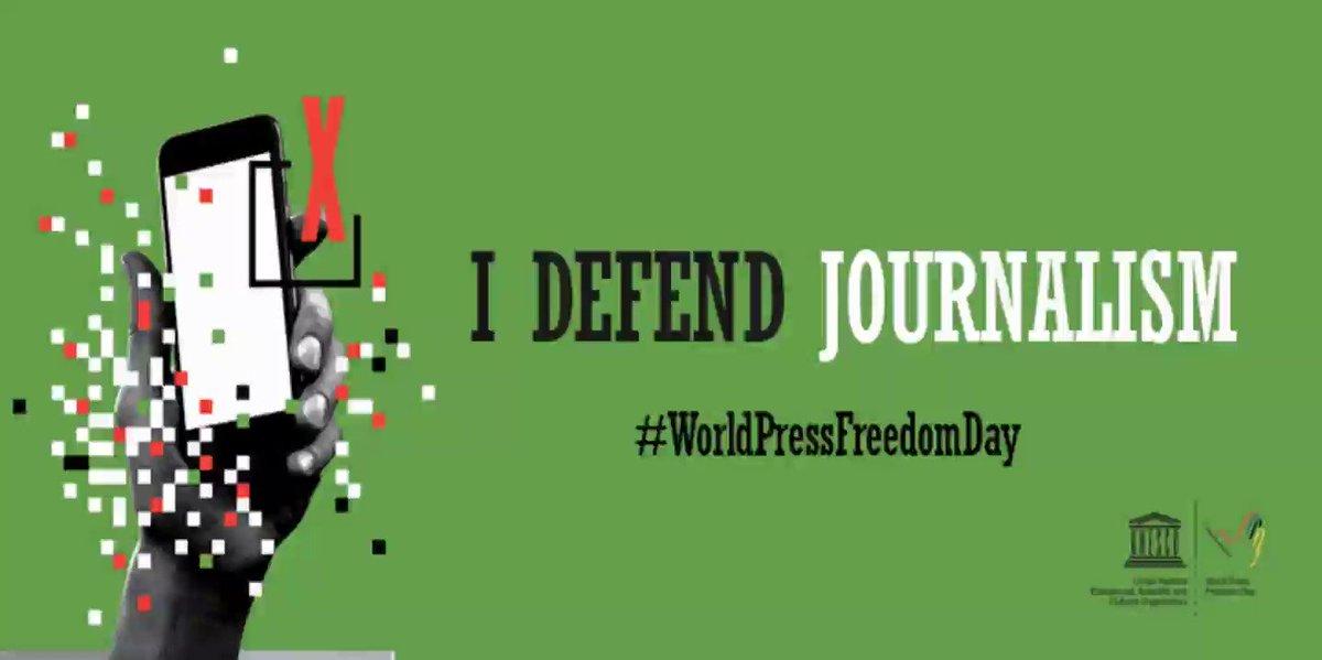 #DefendJournalism 2019 World Press Freedom Day @UNESCO #WPFD #WPFD2019 #WorldPressFreedomDay #WorldPressFreedomDay2019 https://en.unesco.org/commemorations/worldpressfreedomday… https://en.unesco.org/events/world-press-freedom-day-2019… World Press Freedom Index @RSF_inter #WorldPressFreedomIndex #WorldPressFreedomIndex2019 https://rsf.org/en/ranking