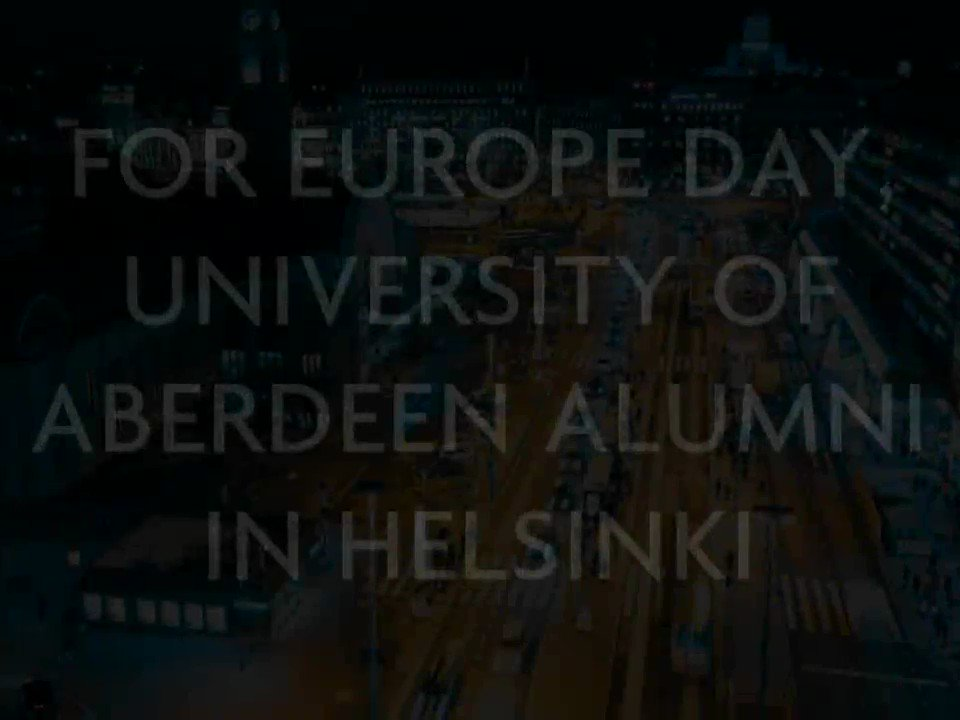 We have an event in #Helsinki for Europe Day next Thursday May 9th! Meet up with fellow alumni at the British Embassy between 5pm and 7pm. Register here: https://www.abdn.ac.uk/alumni/events/14861/… #AbdnFamily #FromAbdn2Europe