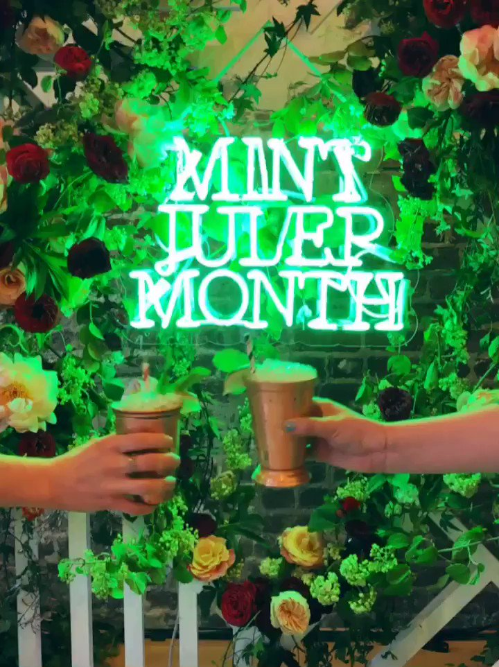 Maker's Mark Mint Julep fans making their mark on 🐎🐎🐎 day. How are you celebrating? Join the party and share your photos with us. #MintJulepMonth #CocktailsForCleanups