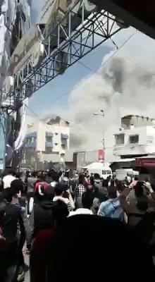 Gaza now #GazaUnderAttack