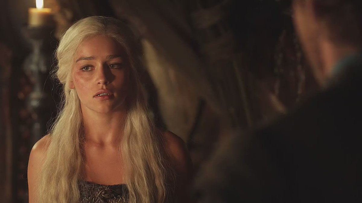"""The mother of dragons chapter has taken up the whole of my adult life. this woman has taken up the whole of my heart.""   Everybody say thank you Emilia Clarke. #GameOfThrones"