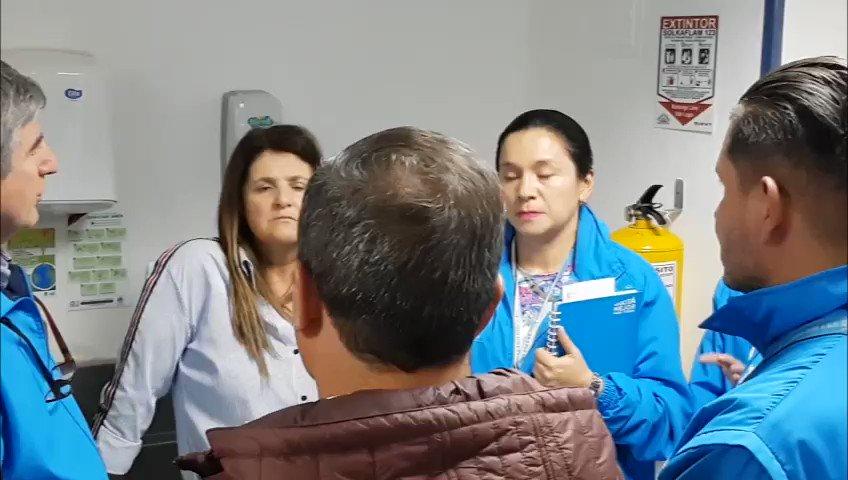 En Bogotá #CuentasConSalud. Lo dicen los mismos usuarios. En el Hospital de Meissen, de la @SubRedSur, los pacientes validan la calidad y oportunidad de la atención #CuentasConSalud
