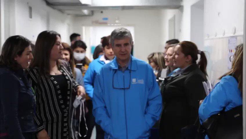 """""""Me han atendido muy bien; no tengo queja"""".  """"Los especialistas son muy buenos; lo atienden a uno rápido"""".  Esos son los testimonios de los pacientes del Hospital Santa Clara, de la @SubRedCentroOri, quienes valida que en Bogotá #CuentasConSalud"""