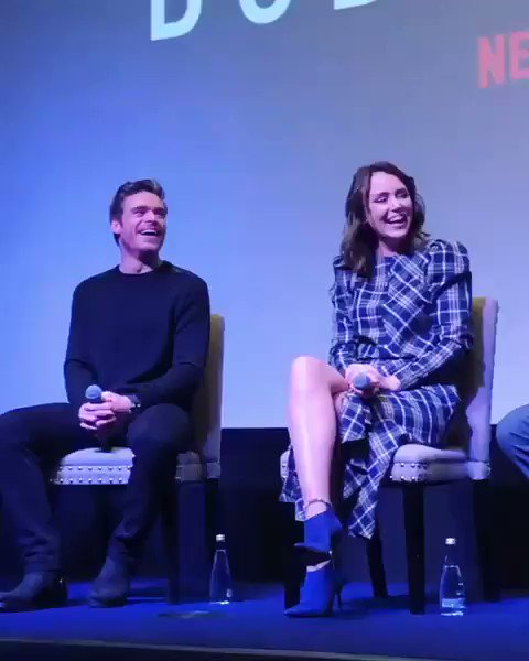 Keeley Hawes and Richard Madden at the FYC Netflix event in New York!