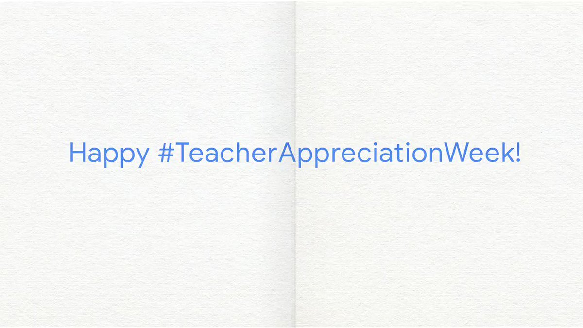 To the lesson planners, the mentors, the goal setters and the go-getters. Thank you for believing in students everywhere. Happy #TeacherAppreciationWeek!